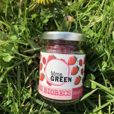 petit pot biobec fraise framboise Mme Green