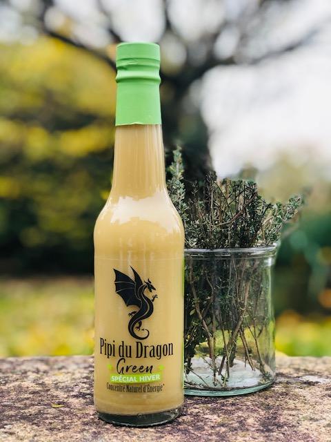 boisson energisante citron et thym pour l'hiver Mme Green
