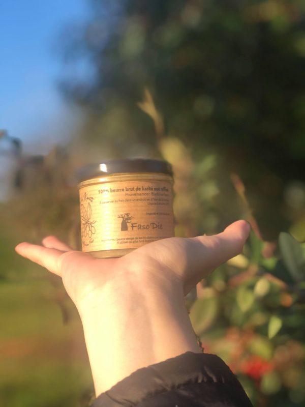 beurre de karite équitable extrait a froid Mme Green