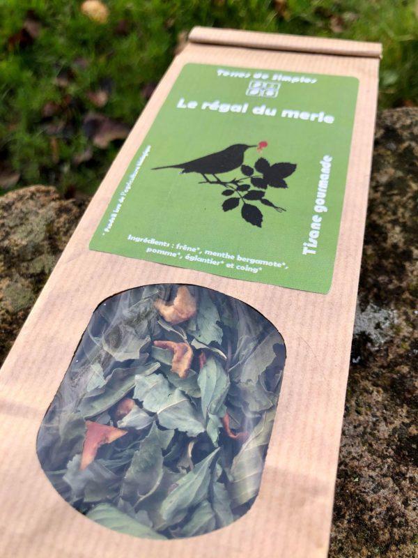 tisane avec des fruits bio terres de simples Mme Green