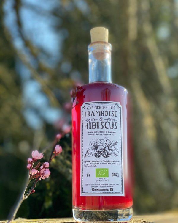 vinaigre de cidre non pasteurisé hibiscus mme green