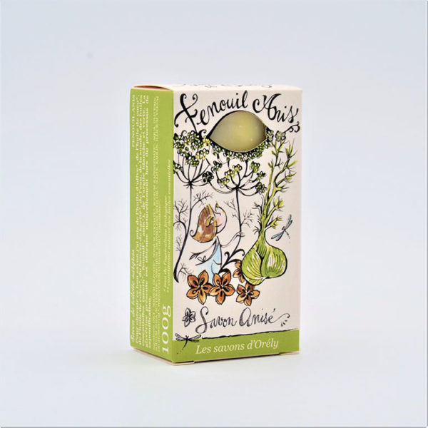 savon frais fenouil anis savons d'orely mme green