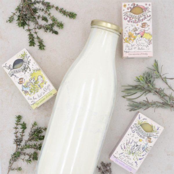 les savons au lait de normandie Mme Green