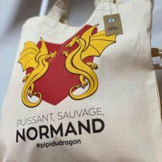 sac tote bag dragon normand